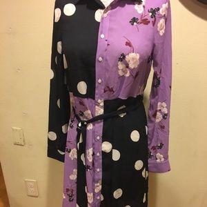 ModCloth Print Dress, Size Small